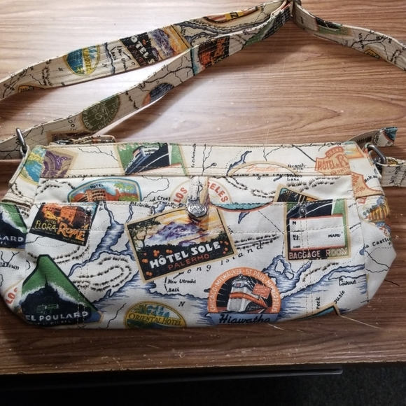Fossil Handbags - Fossil World Traveler Crossbody Handbag